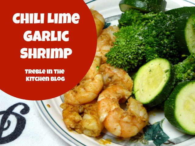 Chili Lime Garlic Shrimp text