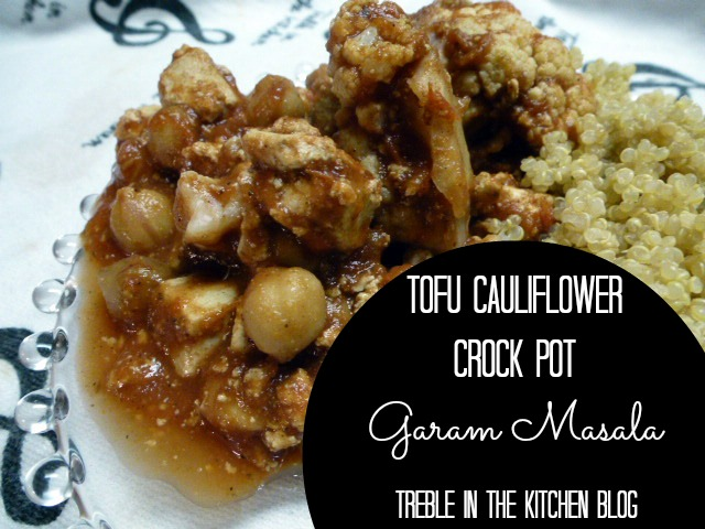 tofu cauliflower garam masala text