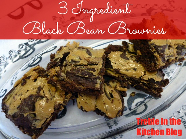 Black bean pb brownies text