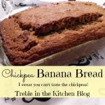 chickpea banana bread text