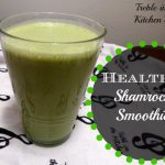 healthy shamrock shake text