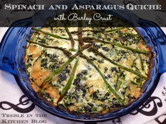 asparagus and swiss scramble asparagus leek and gruyere quiche ...