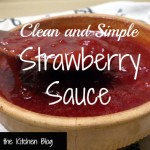Strawberry Sauce text