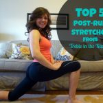 hip flexor stretch treble in the kitchen text