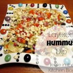 Greek layer dip text