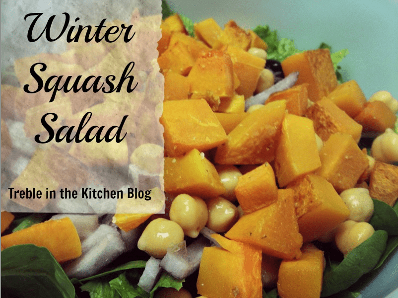 Winter Squash Salad via Treble in the Kitchen