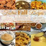 Festive Fall Recipes via Treble in the Kitchen