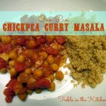 One-Pan Chickpea Curry Masala via Treble in the Kitchen