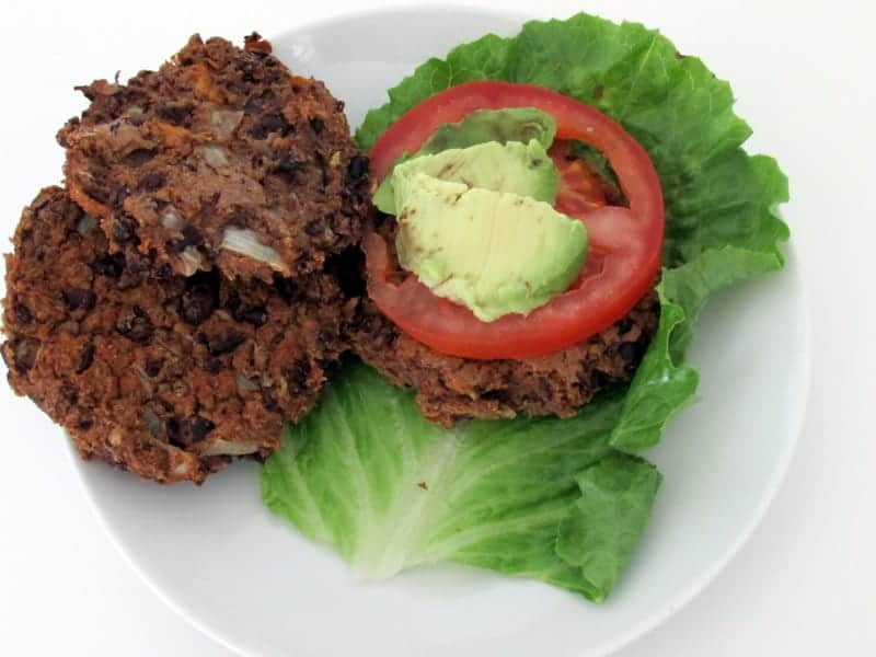 Black Bean Sweet Potato Burgers 1