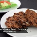 Black Bean Sweet Potato Burgers via Treble in the Kitchen