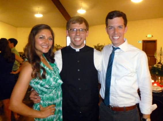 Ben First Mass with Tara and Brian