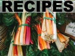 Recipes from Treble in the Kitchen