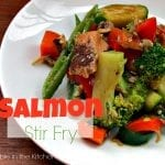 Salmon Stir Fry via Treble in the Kitchen