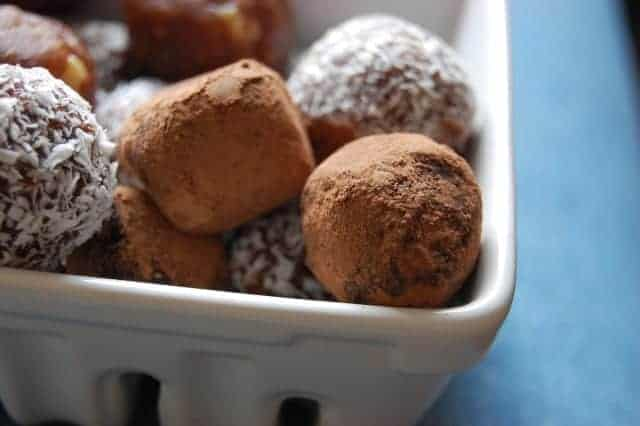 Customizable Cocoa Date Truffles - Uproot From Oregon - Treble in the ...