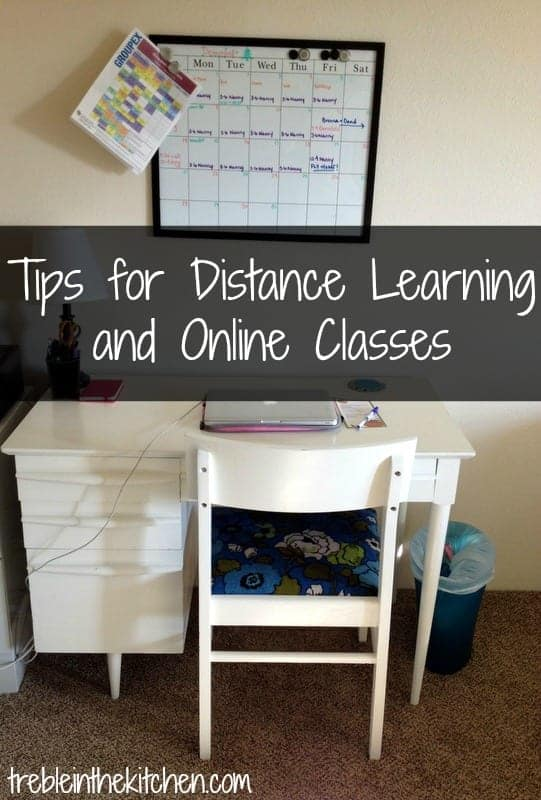 Tips For Distance Learning And Online Classes Treble In The Kitchen