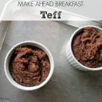 How to Make Teff via Treble in the Kitchen