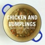 Chicken and Dumplings from Treble in the Kitchen