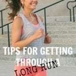 Tips for Getting Through a Long Run from Treble in the Kitchen